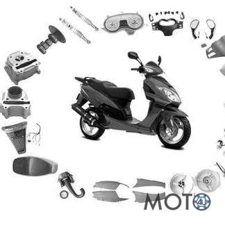 Ķīnas motorolleru daļas